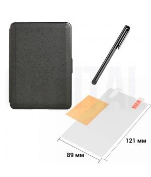 Чехол для PocketBook PKBK 616/627/632 Black + Защитная пленка + Стилус