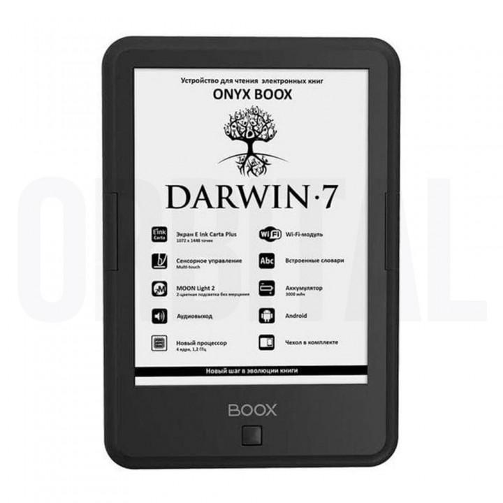 Электронная книга (ридер) ONYX BOOX Darwin 7 (черная, белая)