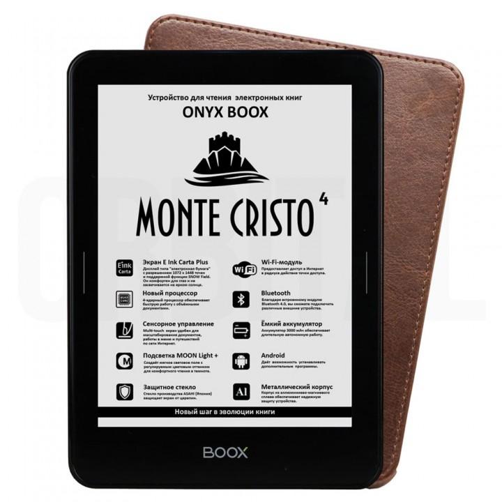 Электронная книга (ридер) ONYX BOOX Monte Cristo 4