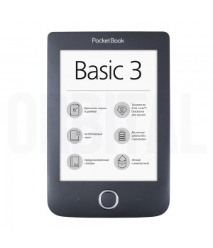 Pocketbook Basic 3 (PB 614) Black (Черная) Электронная книга