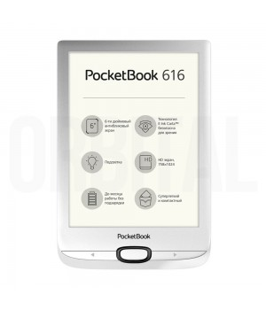 PocketBook Basic Lux 2 (PB 616) Silver (Серебристая) Электронная книга