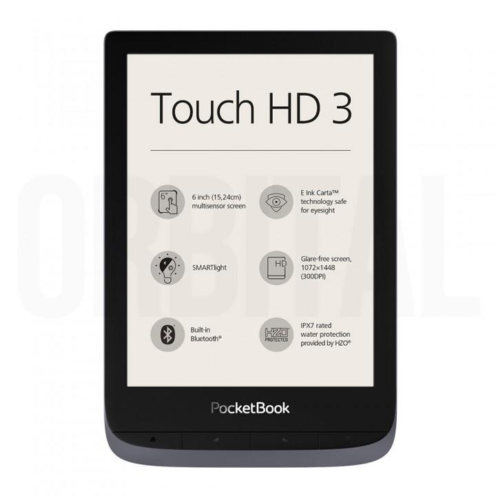 Электронная книга (ридер) PocketBook Touch HD 3 (PB 632) Gray (серого цвета)