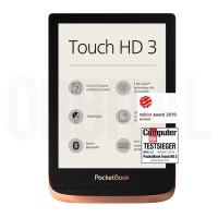 PocketBook Touch HD 3 (PB 632) Spicy Copper (Медная) Электронная книга