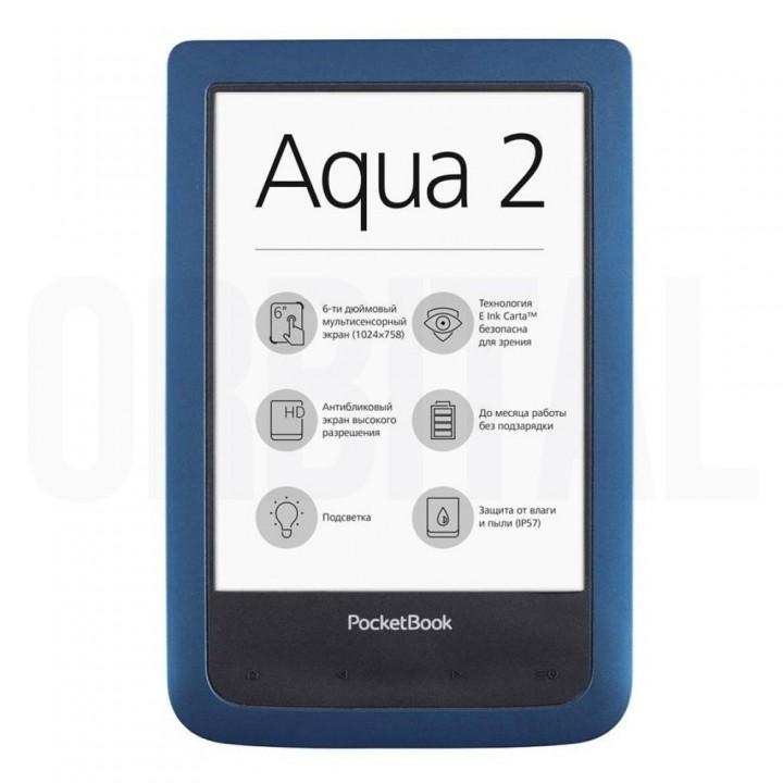 Электронная книга (ридер) PocketBook Aqua 2 PB 641 Blue (синего цвета)