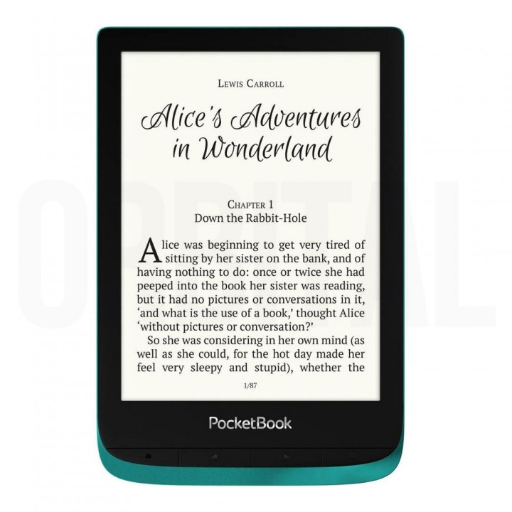 Электронная книга (ридер) PocketBook Touch Lux 4 (PB 627) Emerald (изумрудный цвет)