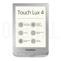 PocketBook Touch Lux 4 (PB 627) Silver (Серебристая) Электронная книга