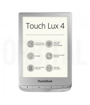 PocketBook Touch Lux 4 (PB 627) Silver (Серебристая) Электронная книга