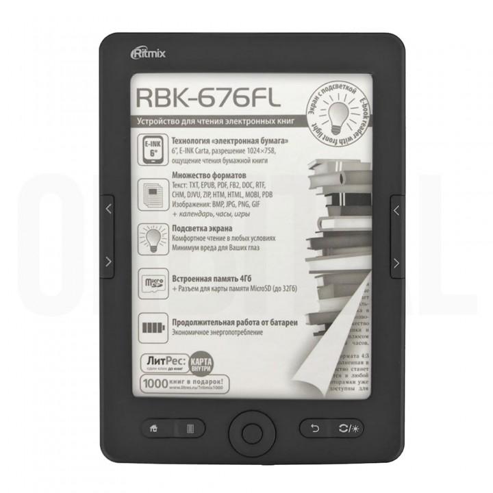 Электронная книга (ридер) Ritmix RBK-676FL