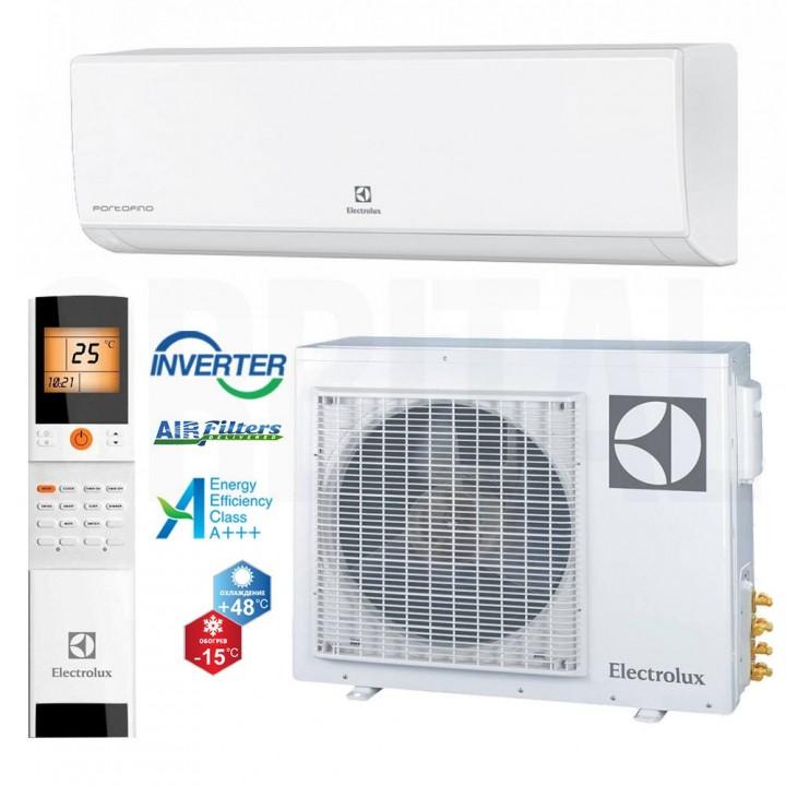 Сплит-система Electrolux Portofino Super DC Inverter EACS/I-24HP/N3_15Y (настенный кондиционер)