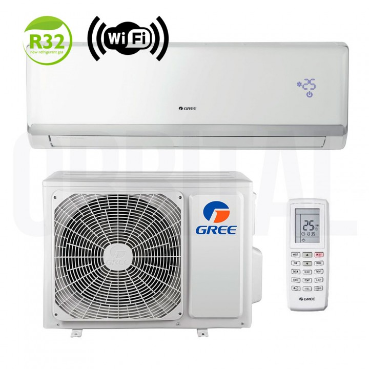 Сплит-система Gree Bee Techno Inverter R32 GWH24QD-K6DNA5A (настенный кондиционер)