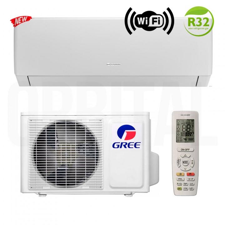 Сплит-система Gree Pular Inverter Eco R32 GWH09AGA-K6DNA4A (настенный кондиционер)