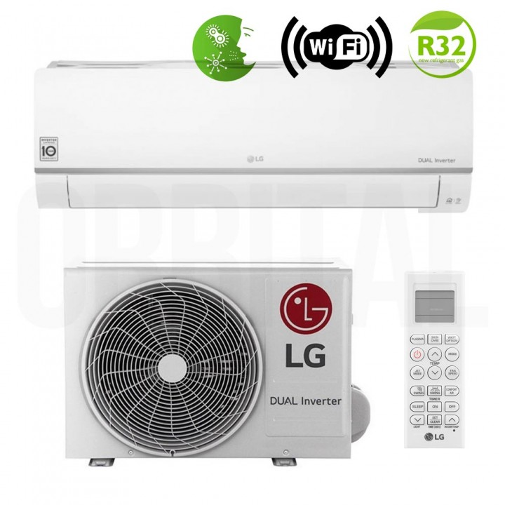 Сплит-система LG Eco Smart 2021 PC12SQ (настенный кондиционер)