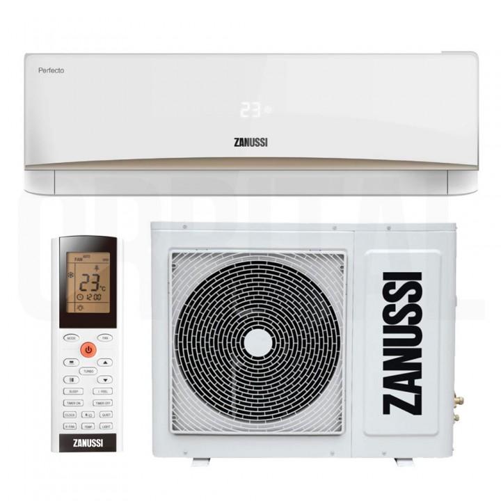 Сплит-система Zanussi Perfecto DC Inverter ZACS/I-09 HPF/A17/N1 (настенный кондиционер)