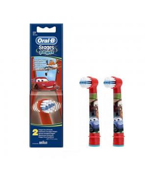 Детские сменные насадки Braun Oral-B Stages Power Cars (2 шт.)
