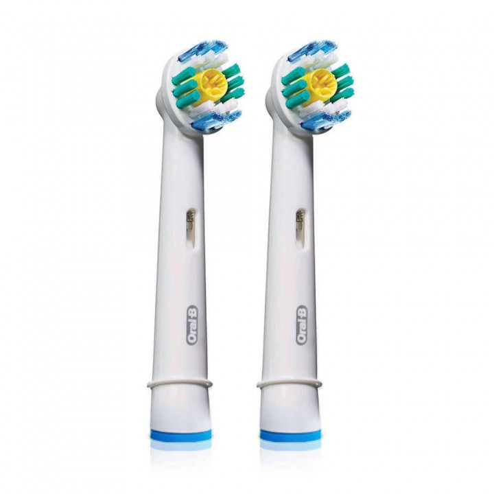 Сменные насадки 3D White для зубной щетки Braun Oral-B (2 шт.)