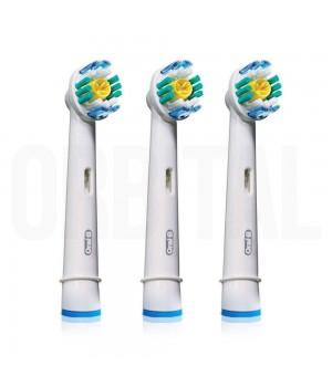 Насадки 3D White для зубной щетки Braun Oral-B (3 шт.)