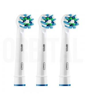 Насадки для зубной щетки Braun Oral-B Cross Action EB50 (3 шт.)