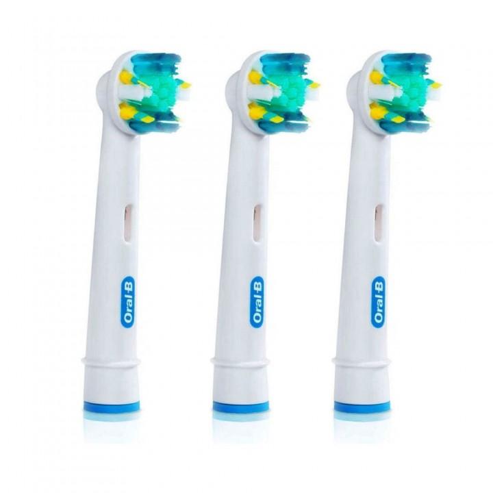Сменные насадки Floss Action для зубной щетки Braun Oral-B (3 шт.)