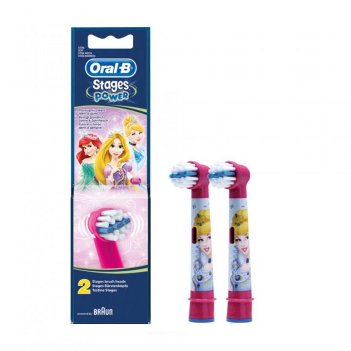 Сменные насадки для детской электрической зубной щетки Braun Oral-B Stages Power Disney (2шт.)
