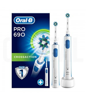 Зубная щетка Braun Oral-B Pro 690 CrossAction (D16.524.H)