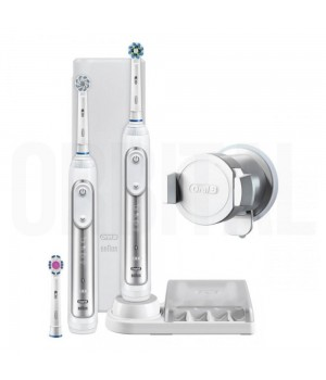 Зубная щетка Braun Oral-B Genius 8900 White D701.535.5XC