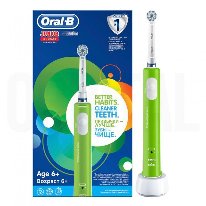 Детская электрическая зубная щетка Braun Oral-B Pro 400 Junior Sensi Ultrathin D16.513.1