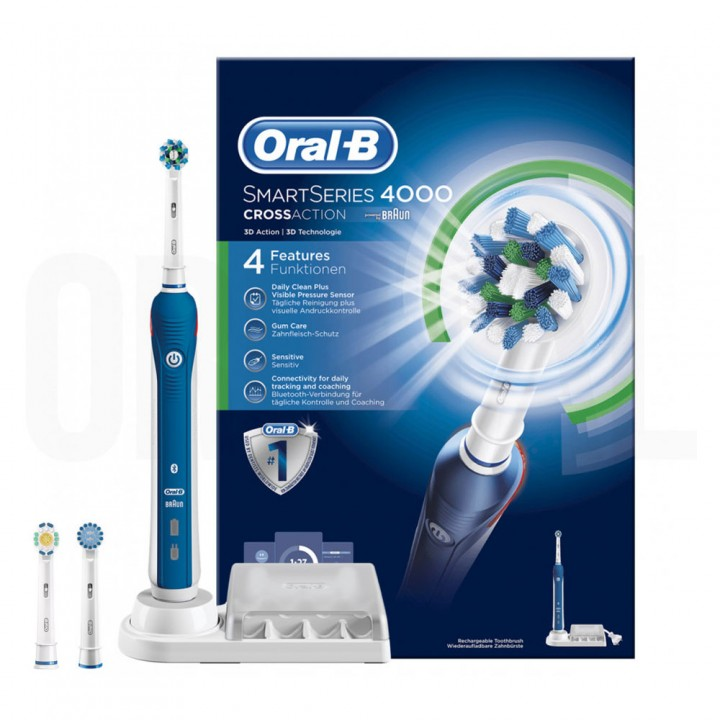 Электрическая зубная щетка Braun Oral-B Pro 4000