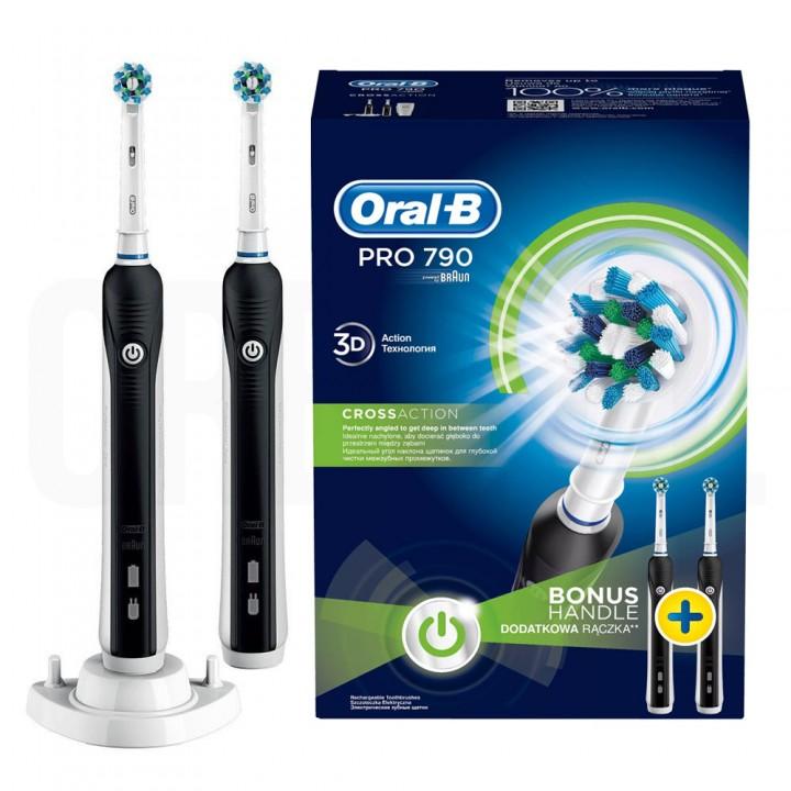 Электрические зубные щетки Braun Oral-B Pro 790 Cross Action D16.524.UHX