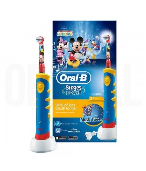 Зубная щетка Braun Oral-B Kids Power Toothbrush Mickey Mouse D10.513