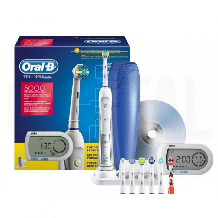 Электрическая зубная щетка Braun Oral-B Professional Care Triumph 5000 D34.545.5X