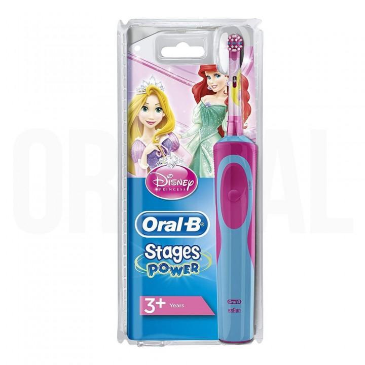 Детская электрическая зубная щетка Braun Oral-B Vitality Kids Princess D12.513.K