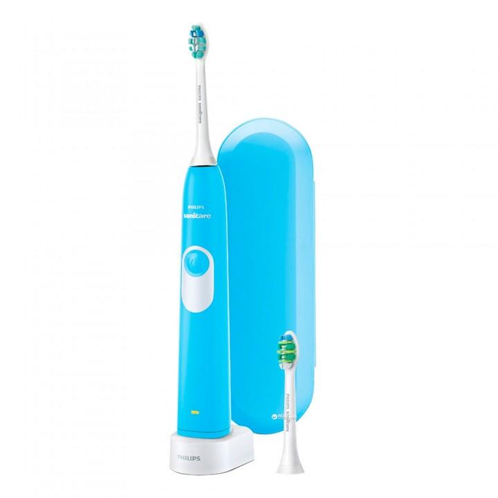 Электрическая зубная щетка Philips Sonicare 2 Series Plaque Control HX6212/87 голубая