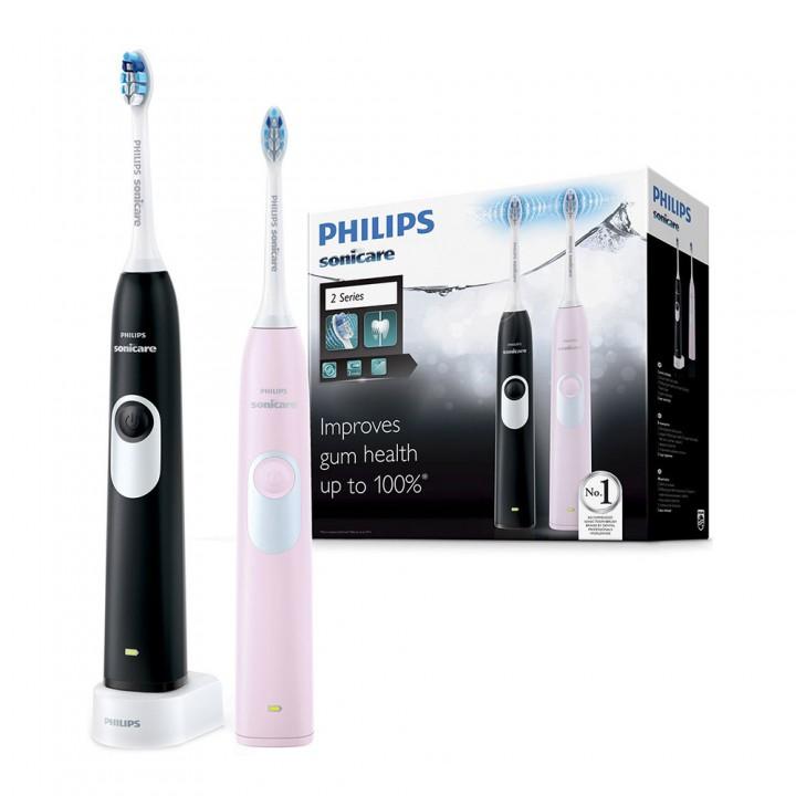 Электрическая зубная щетка Philips Sonicare Gum Health 2 series Pink+Black HX6232/41