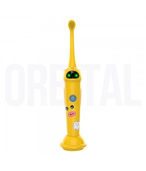Revyline RL 020 Kids, Yellow Электрическая звуковая зубная щётка